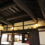 主屋の中で最も古い造りの土間部分