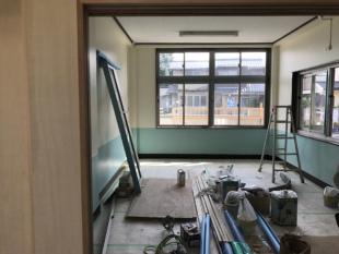 内部塗装工事もリニューアル