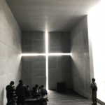 光の教会(展覧会における原寸模型)/安藤忠雄