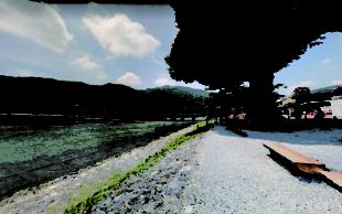 嵐山左岸 現況