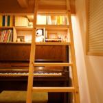 ピアノ置場