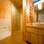 洗面脱衣室〜浴室