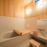 浴室 桧製