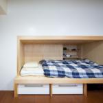 1段目ベッド